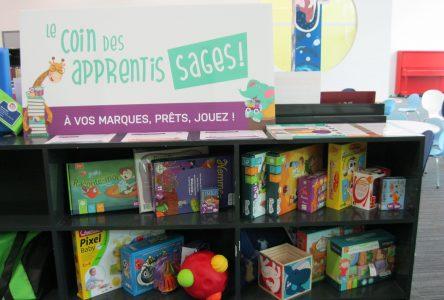 La bibliothèque Montarville-Boucher-De La Bruère inaugure un nouvel espace dédié aux tout-petits et à leurs parents