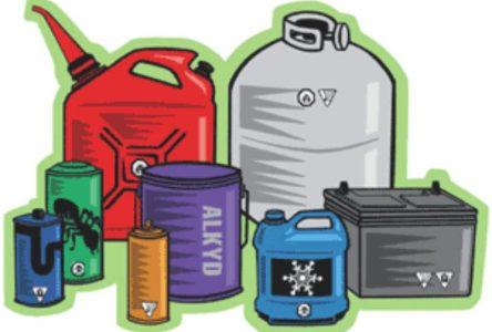 Collecte de résidus domestiques dangereux et d'appareils électroniques désuets le samedi 9 juin
