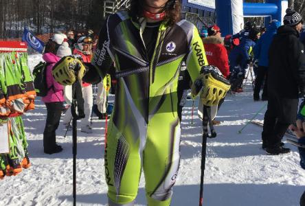 Un Bouchervillois dans l'Équipe du Québec en ski alpin