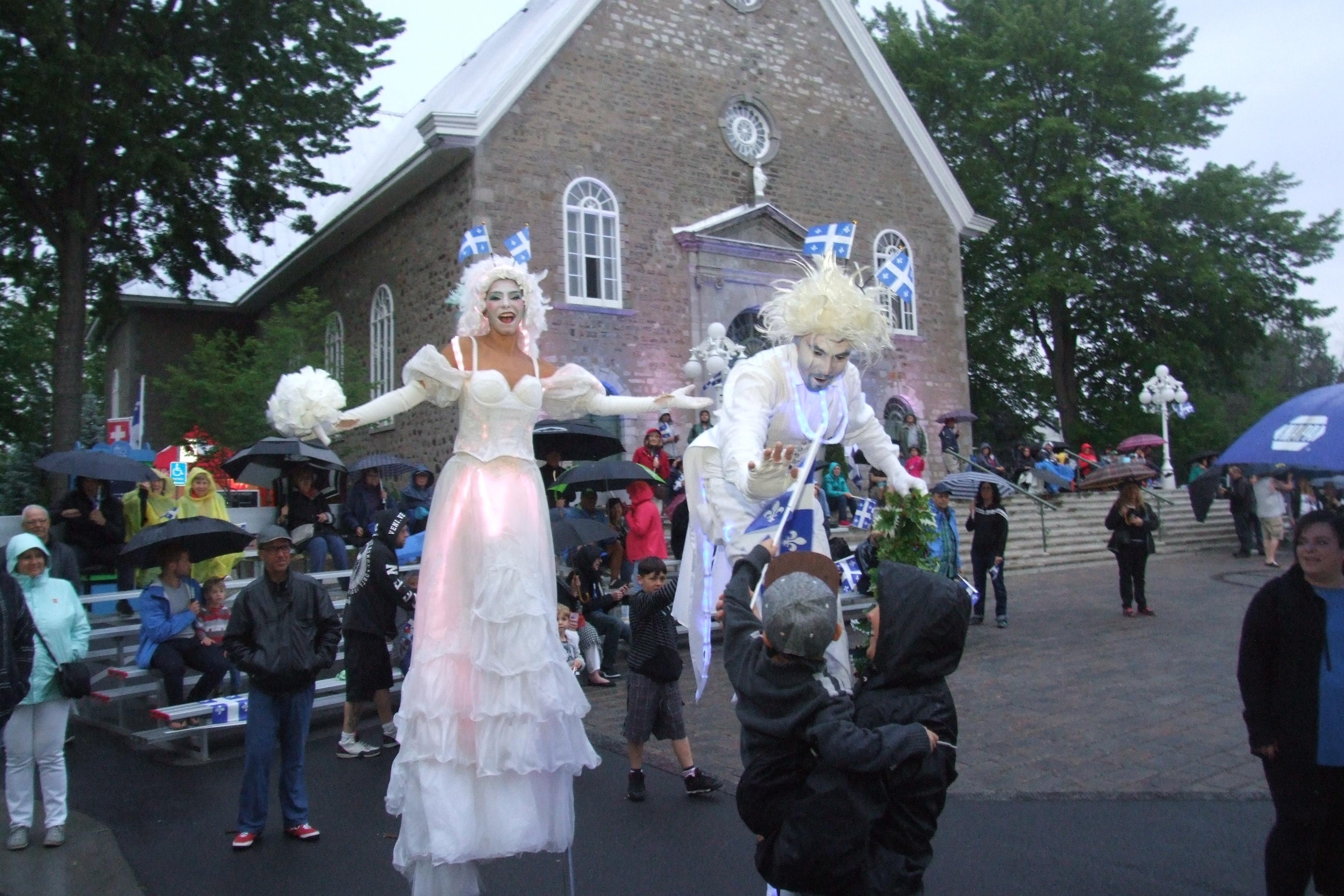 La Fête nationale prend une allure festive malgré la pluie à Boucherville
