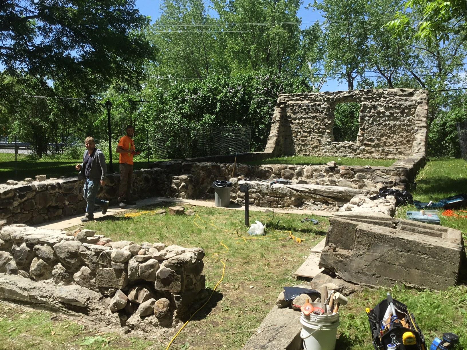 La Société du patrimoine tient à la sauvegarde des ruines de la Villa La Broquerie