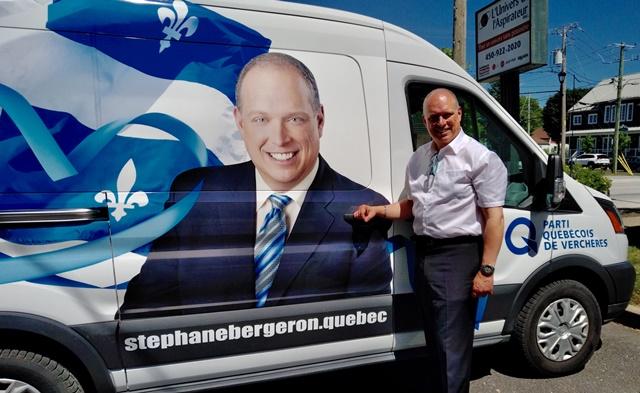Le Parti québécois dévoile la StephMobile!