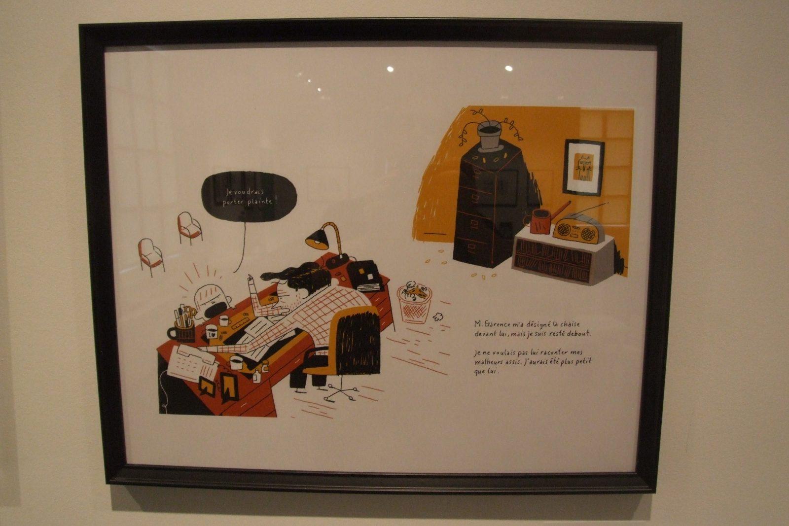 Les dessins des illustrateurs des Éditions de La Pastèque font l'objet d'une exposition