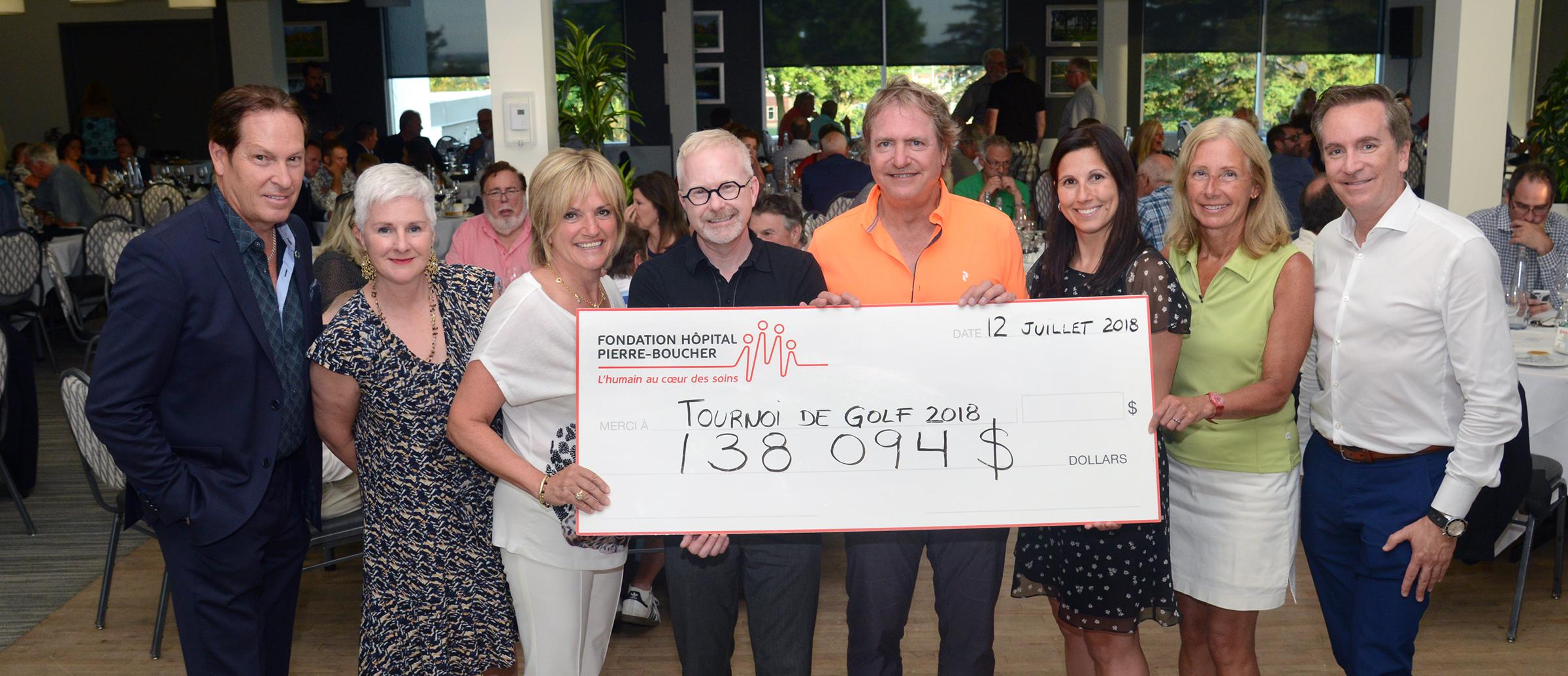 Tournoi de golf de la Fondation Hôpital Pierre-Boucher : du soleil, de la bonne humeur et un beau profit !