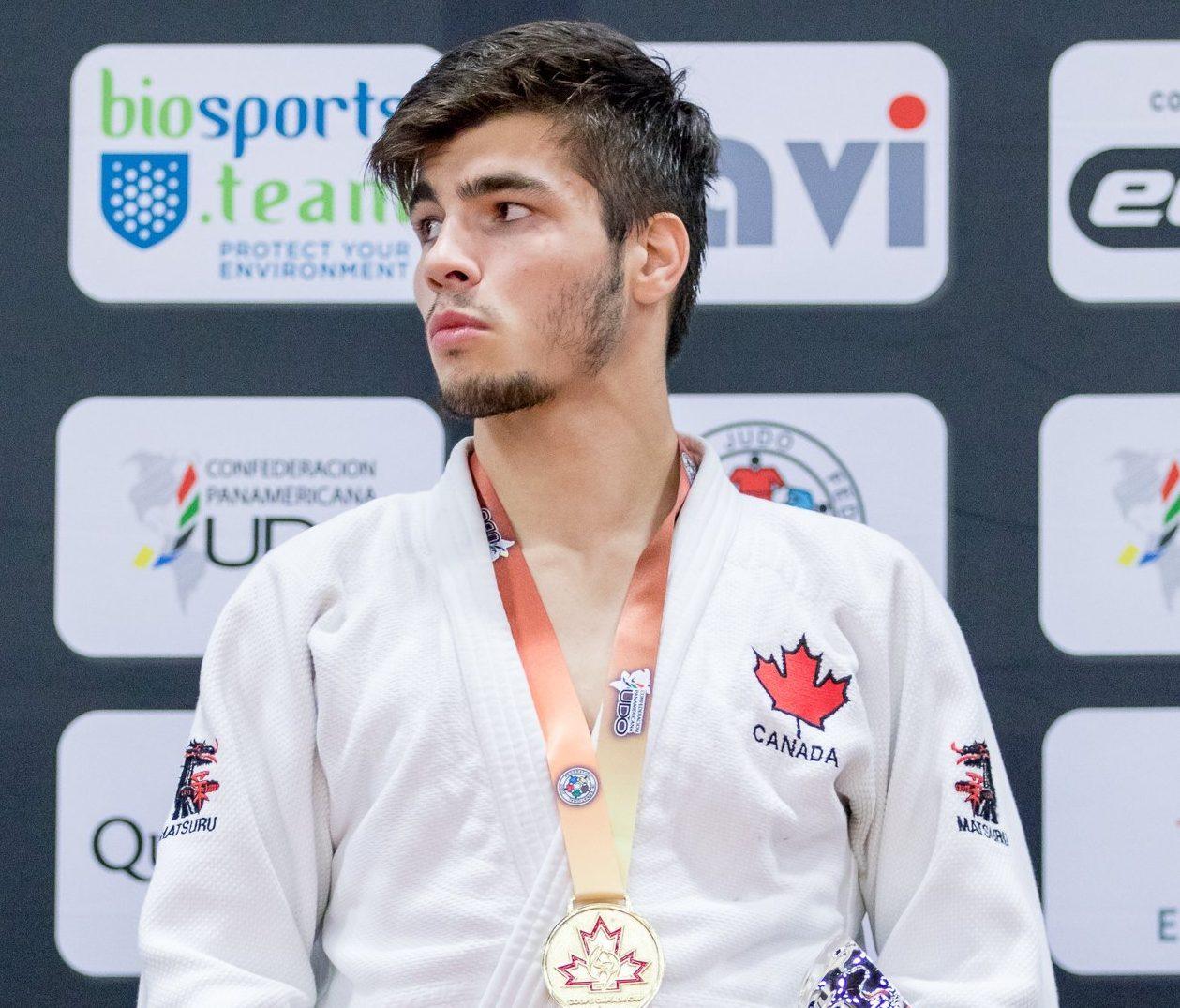 Deux fois l'or pour Jacob Valois à la Coupe Canada de judo