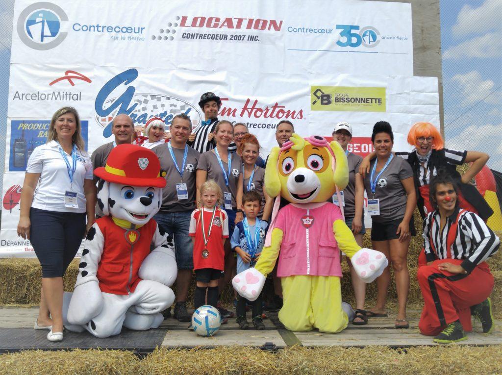 Près de 850 joueurs de soccer à Contrecœur pour la  finale de la Ligue Soccer des Patriotes