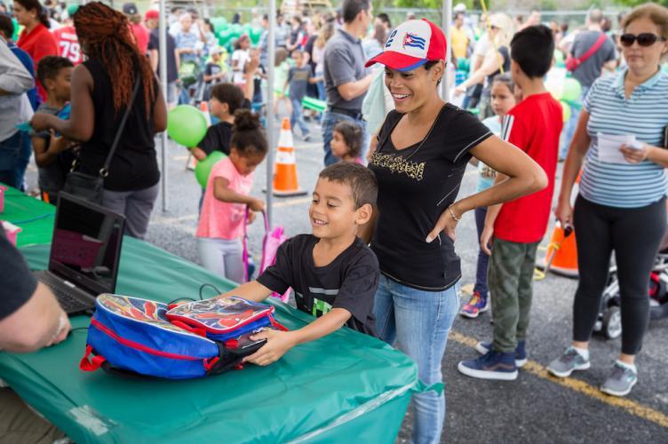 Une aide précieuse à 800 enfants pour la rentrée scolaire