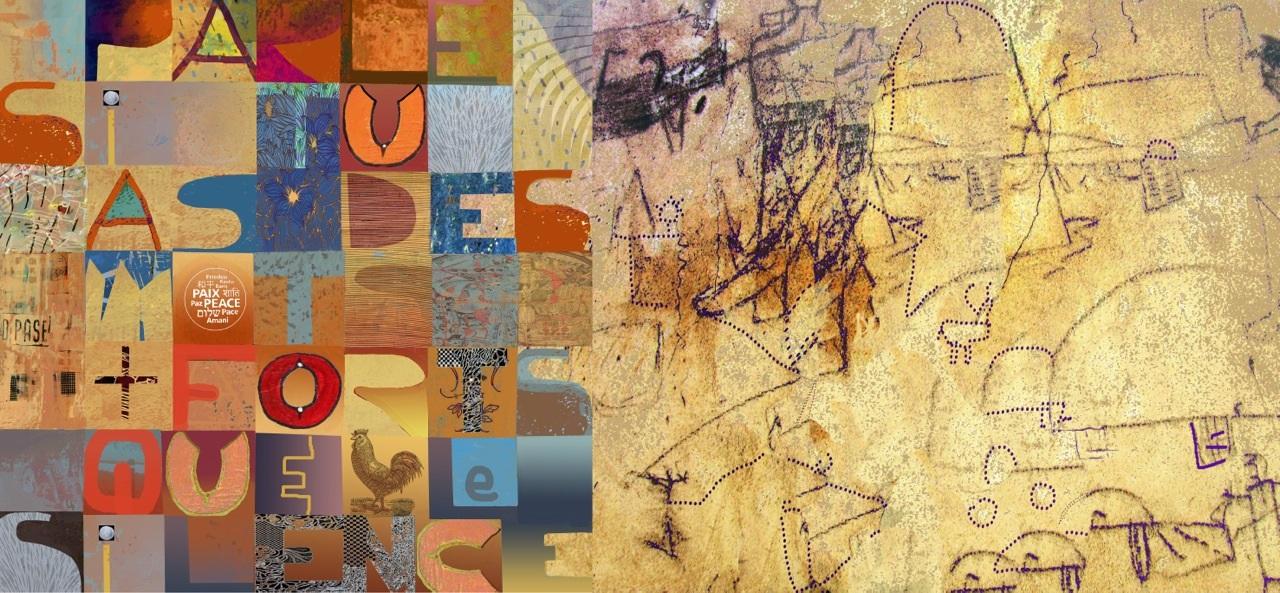 La galerie du Café centre d'art présente  l'exposition Où vont les mots? de l'artiste Claire Lemay