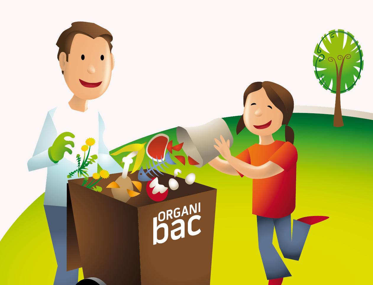 Collecte des matières organiques: évitez les désagréments cet été avec l'Organibac!