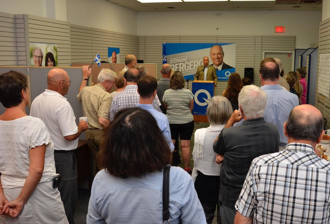 Ouverture du local électoral du Parti Québécois de Verchères
