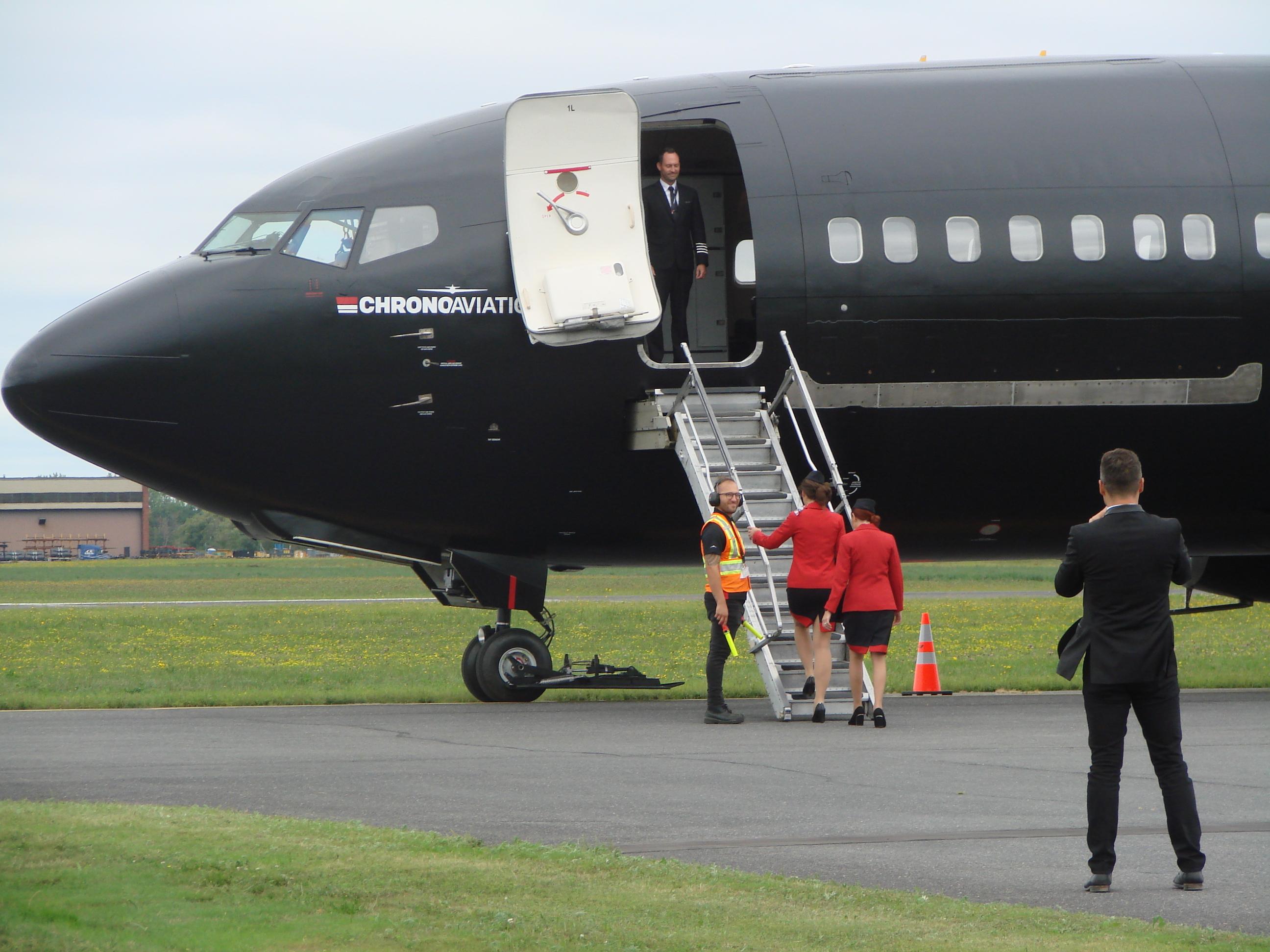 L'aéroport de Saint-Hubert peut maintenant accueillir des Boeing 737