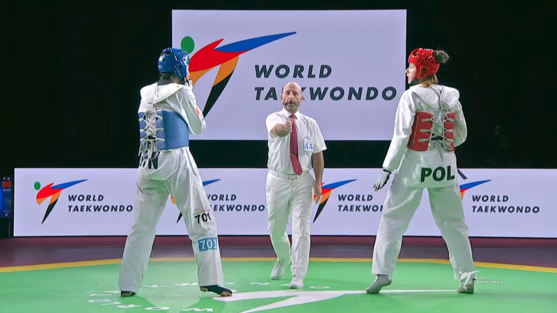 Karl Dery du Club Taekwondo Boucherville a participé au World Taekwondo GP de Moscou
