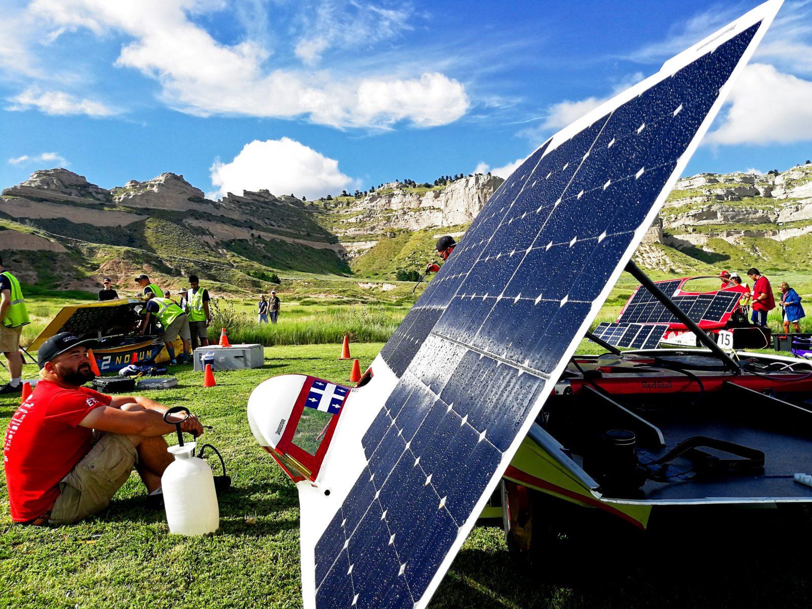 Un podium à l'American Solar Challenge pour deux Bouchervillois