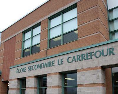 Demande d'agrandissement de l'école secondaire le Carrefour à Varennes