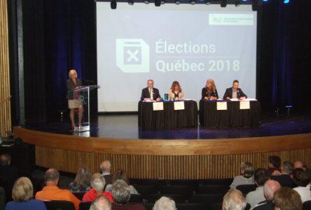 Les candidats dans Montarville font belle figure au débat électoral de l'AGAB