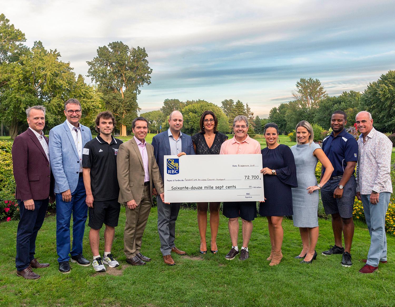 La Fondation du cégep Édouard-Montpetit amasse 72 700 $ pour les équipes sportives Lynx