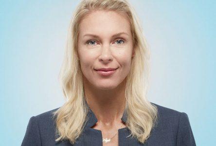Agnieszka Wnorowska candidate du PLQ dans Verchères: une femme aux multiples passions!