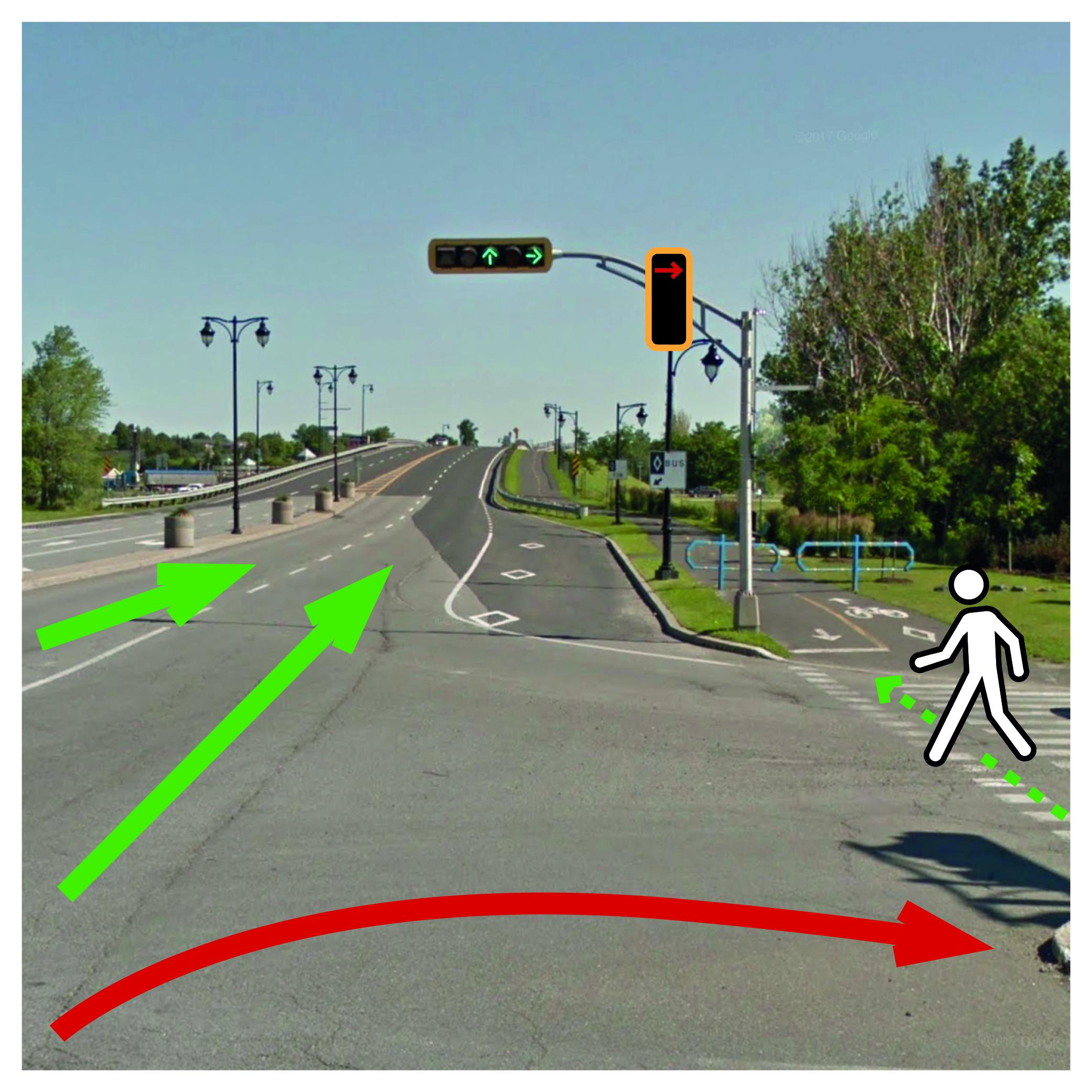 Modification d'un feu de circulation pour améliorer la fluidité de la circulation sur le chemin du Fer-à-Cheval à Sainte-Julie