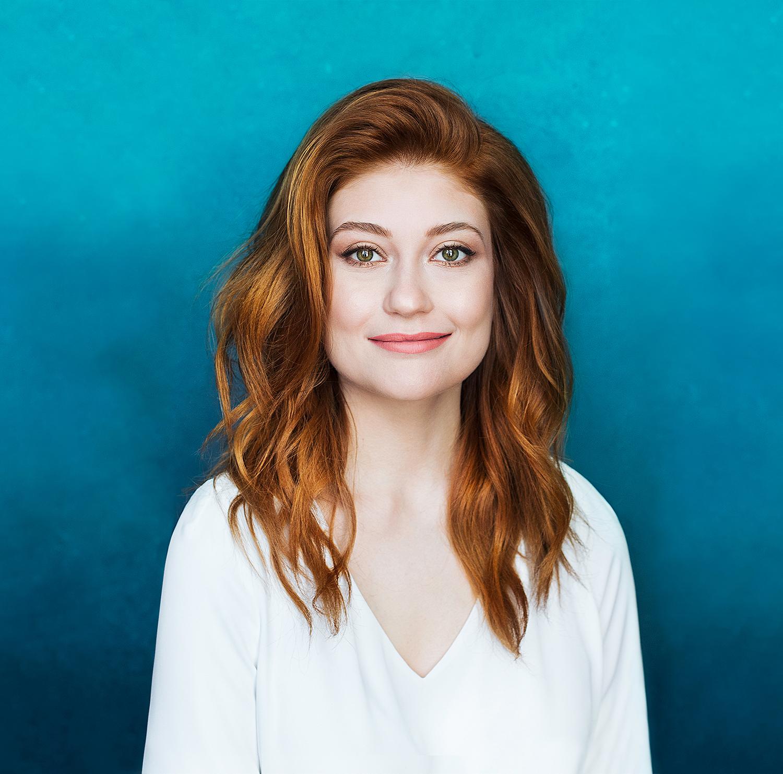 La comédienne Katherine Levac se joint à l'initiative «Le français s'affiche» du cégep Édouard-Montpetit