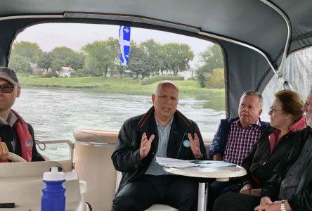 Stéphane Bergeron dévoile ses engagements et invite la population à « monter à bord »!