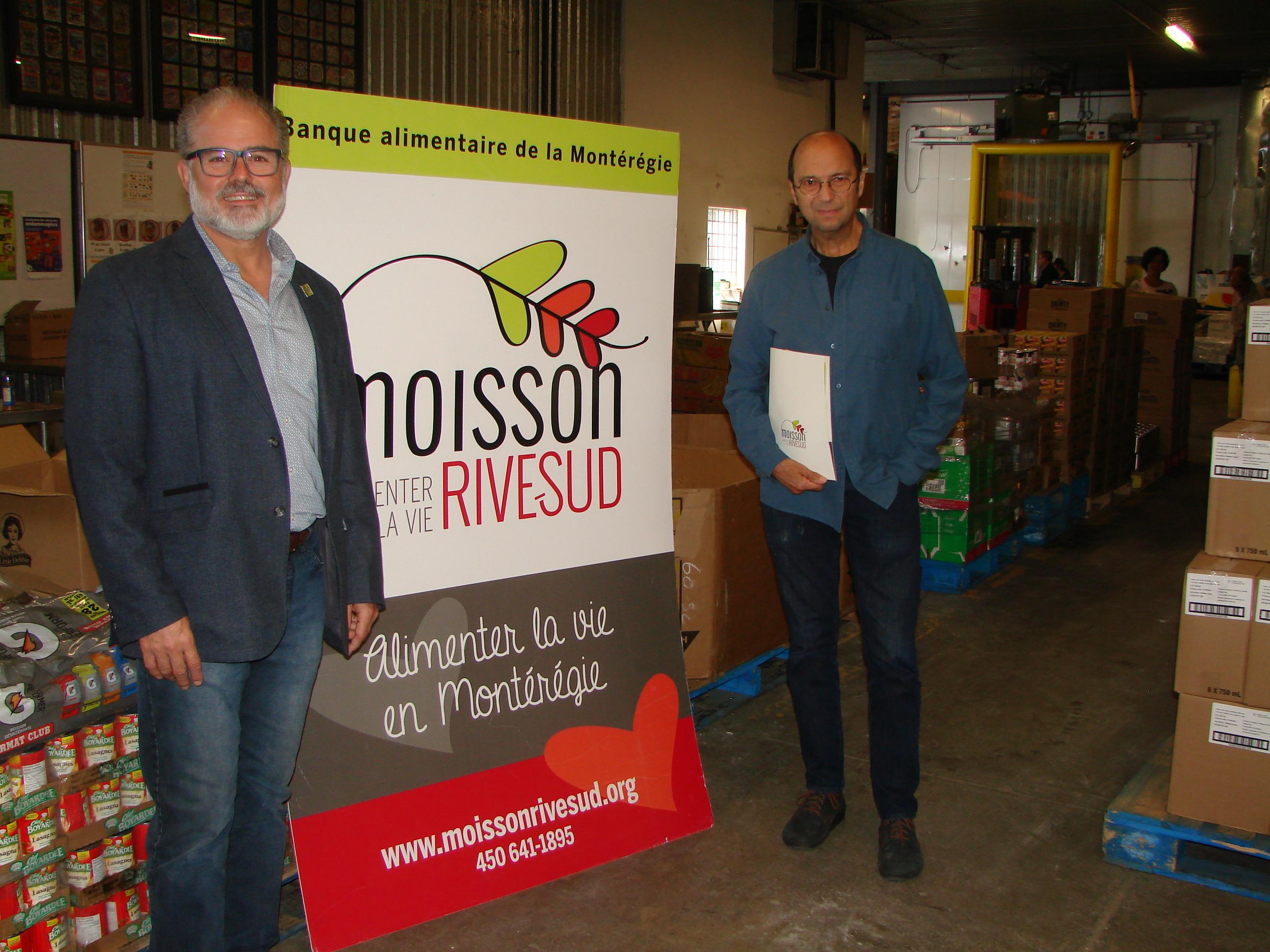 Michel Rivard devient le porte-parole de Moisson Rive-Sud