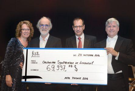 La Fondation Orchestre symphonique de Longueuil recueille près de 70 000 $ à la soirée-bénéfice Artephonie
