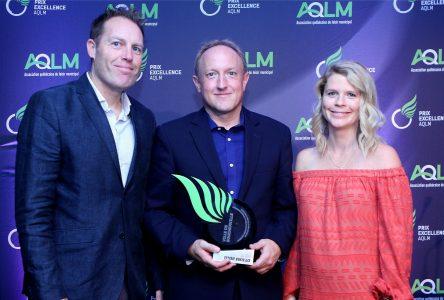 La Ville de Boucherville reçoit un prix Excellence pour le Triathlon-Duathlon 2017
