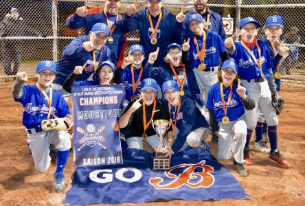 Championnat de baseball: Victoire de deux équipes de Boucherville!