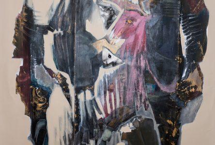 Des personnages obscurs prennent place dans les toiles de Rose Élise Cialdella