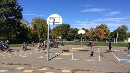 De l'action à la Vélo-Fête à l'école Pierre-Boucher!