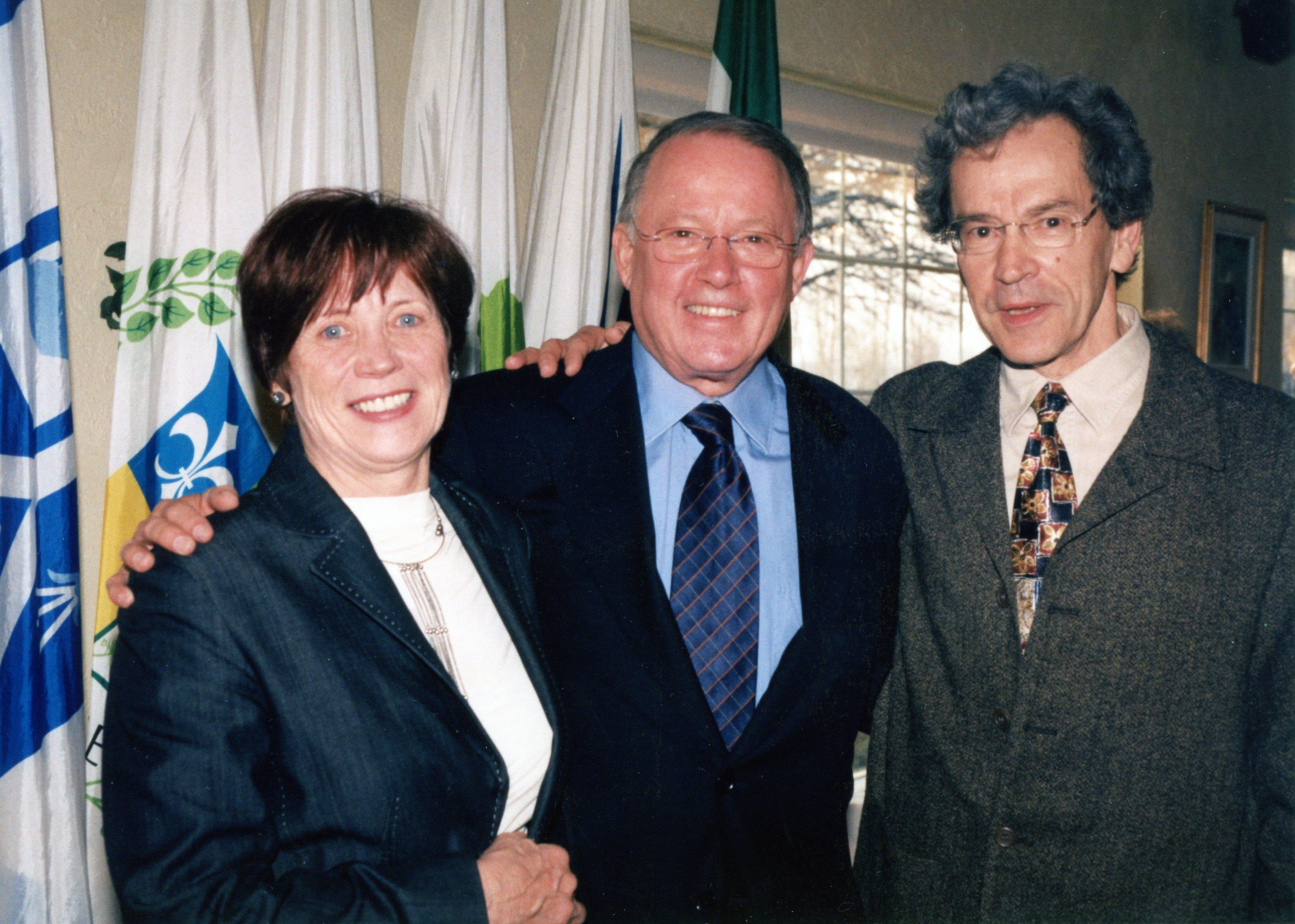 Le Bouchervillois Yvon Parenteau rend hommage à Bernard Landry
