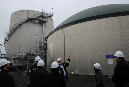 Les matières organiques détournées des sites d'enfouissement et transformées en énergie verte à Varennes