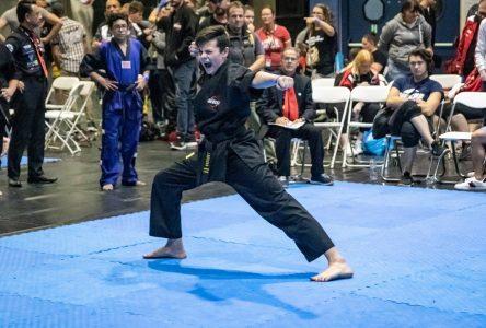 Justin Boileau champion du monde en kata musical