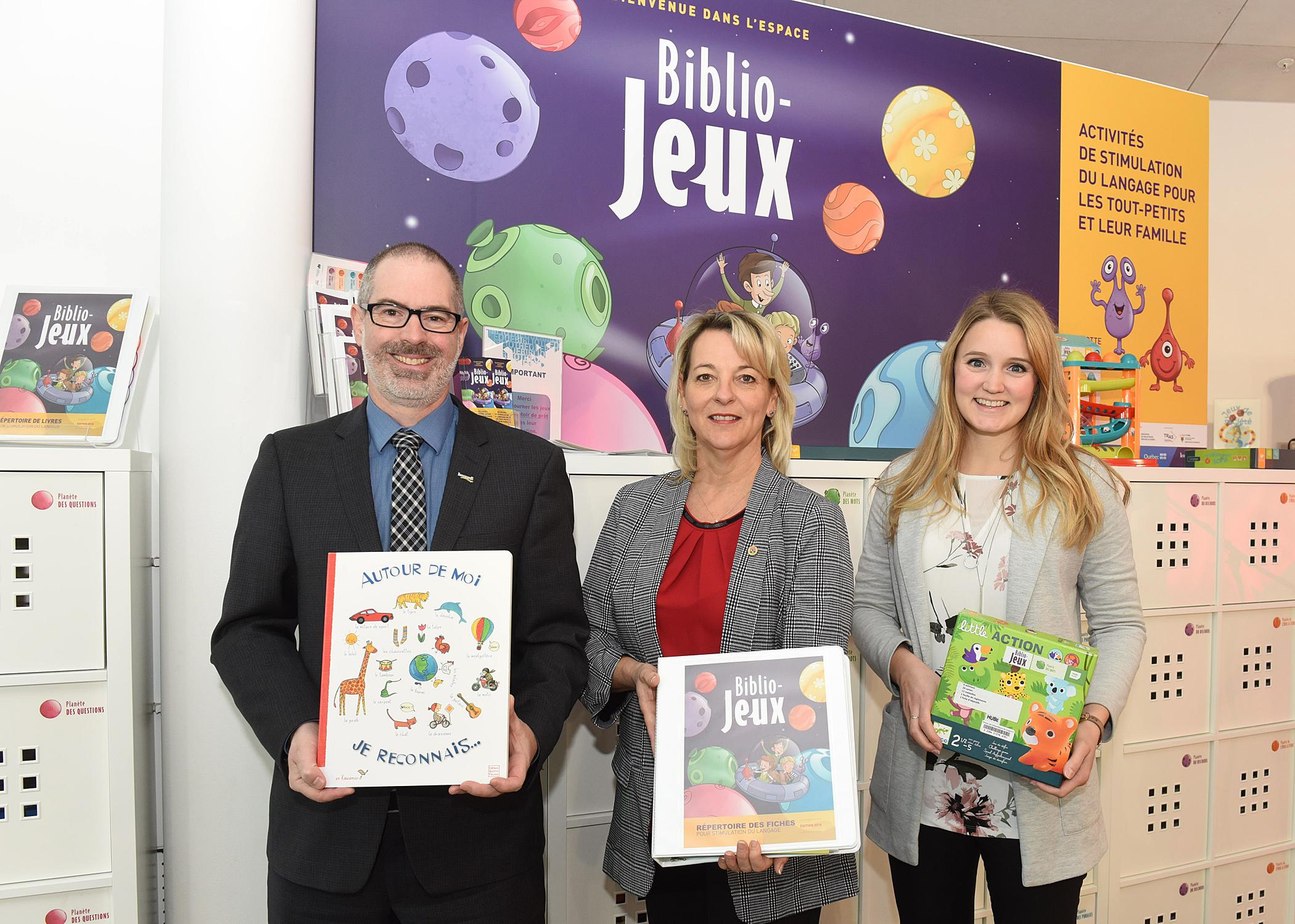 Lancement de Biblio-Jeux à Longueuil : un programme novateur pour stimuler le langage chez les tout-petits !