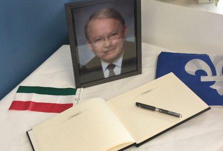 «Nous invitons les citoyens à venir honorer la mémoire de Bernard Landry»