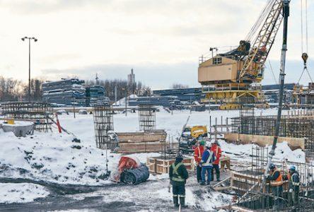 Travaux de 160 M$ pour la modernisation des installations d'ArcelorMittal à Contrecoeur