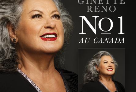 Le nouvel album de Ginette Reno devient numéro 1 des ventes au Canada!