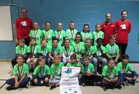 L'école Les Jeunes Découvreurs se démarque au championnat de cross-country du secteur de Boucherville