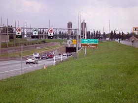 Fermetures de nuit du pont-tunnel Louis-Hippolyte-La Fontaine et de l'autoroute 25