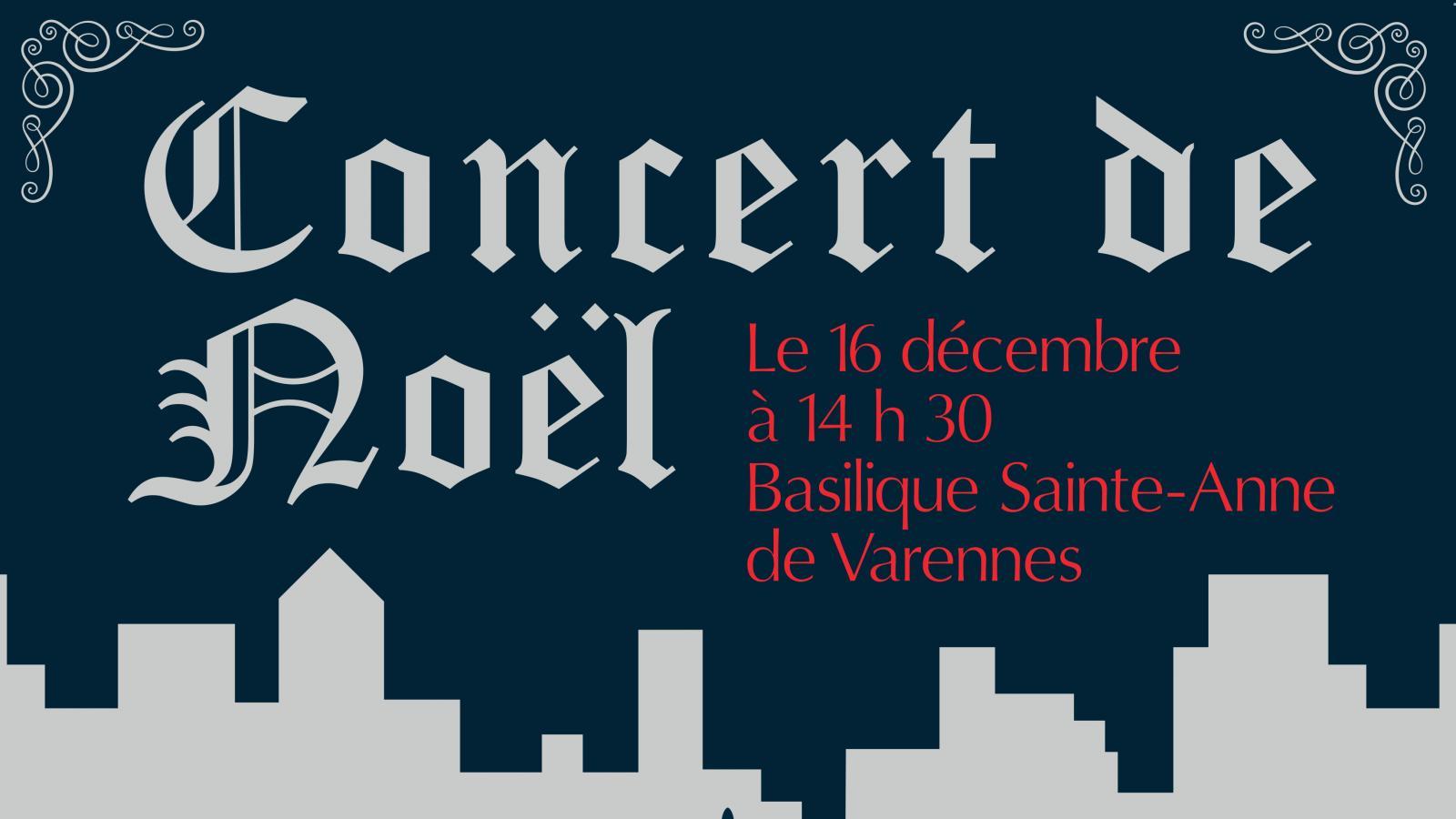 Le 16 décembre: concert de Noël du choeur Amivoix de Varennes