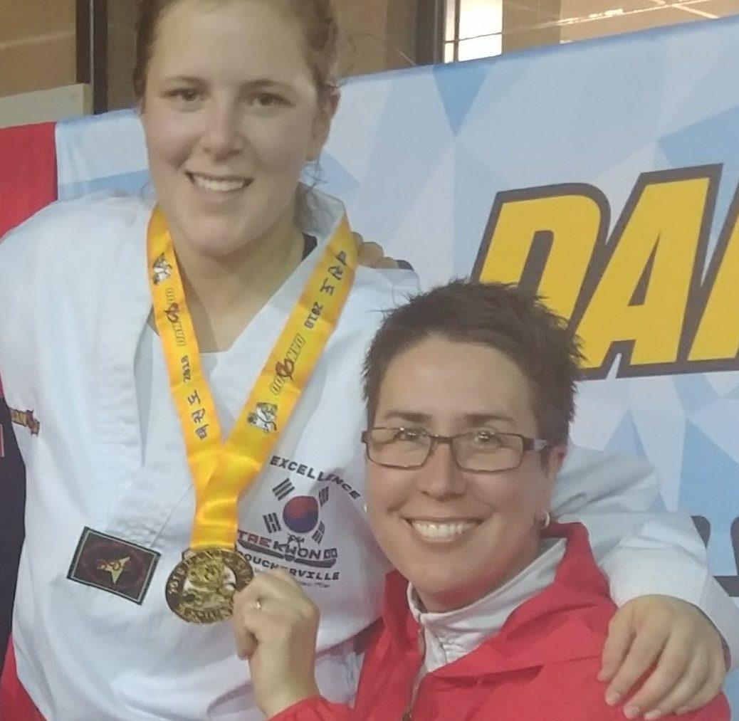 Trois podiums pour l'école Excellence taekwondo Boucherville