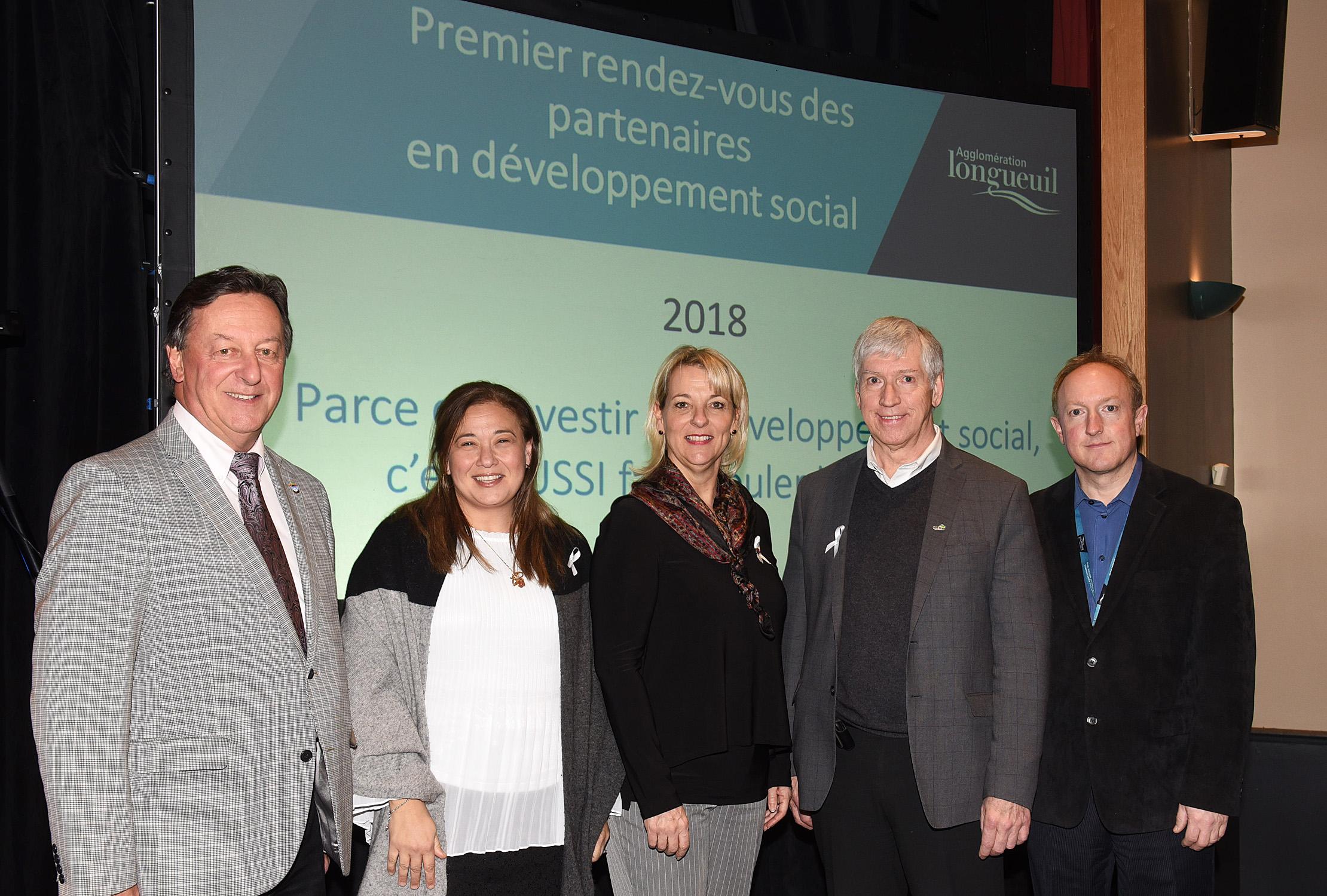 Le premier rendez-vous des partenaires en développement social de l'agglomération de Longueuil : un succès garant de l'avenir!