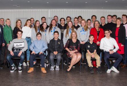 De nombreux sportifs honorés par le conseil municipal de Sainte-Julie