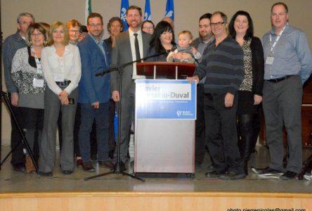 Xavier Barsalou-Duval officiellement candidat du Bloc Québécois dans sa circonscription