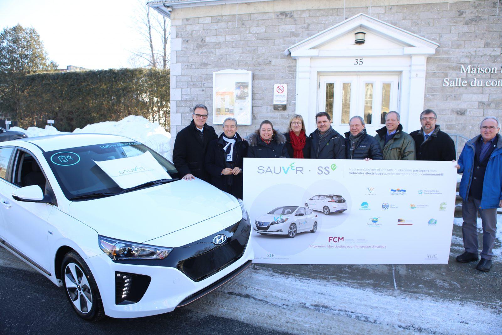 Varennes offrira un véhicule électrique en autopartage à ses citoyens