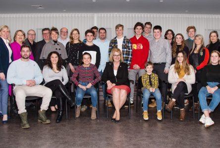 Plusieurs citoyennes et citoyens honorés par le conseil municipal de Sainte-Julie
