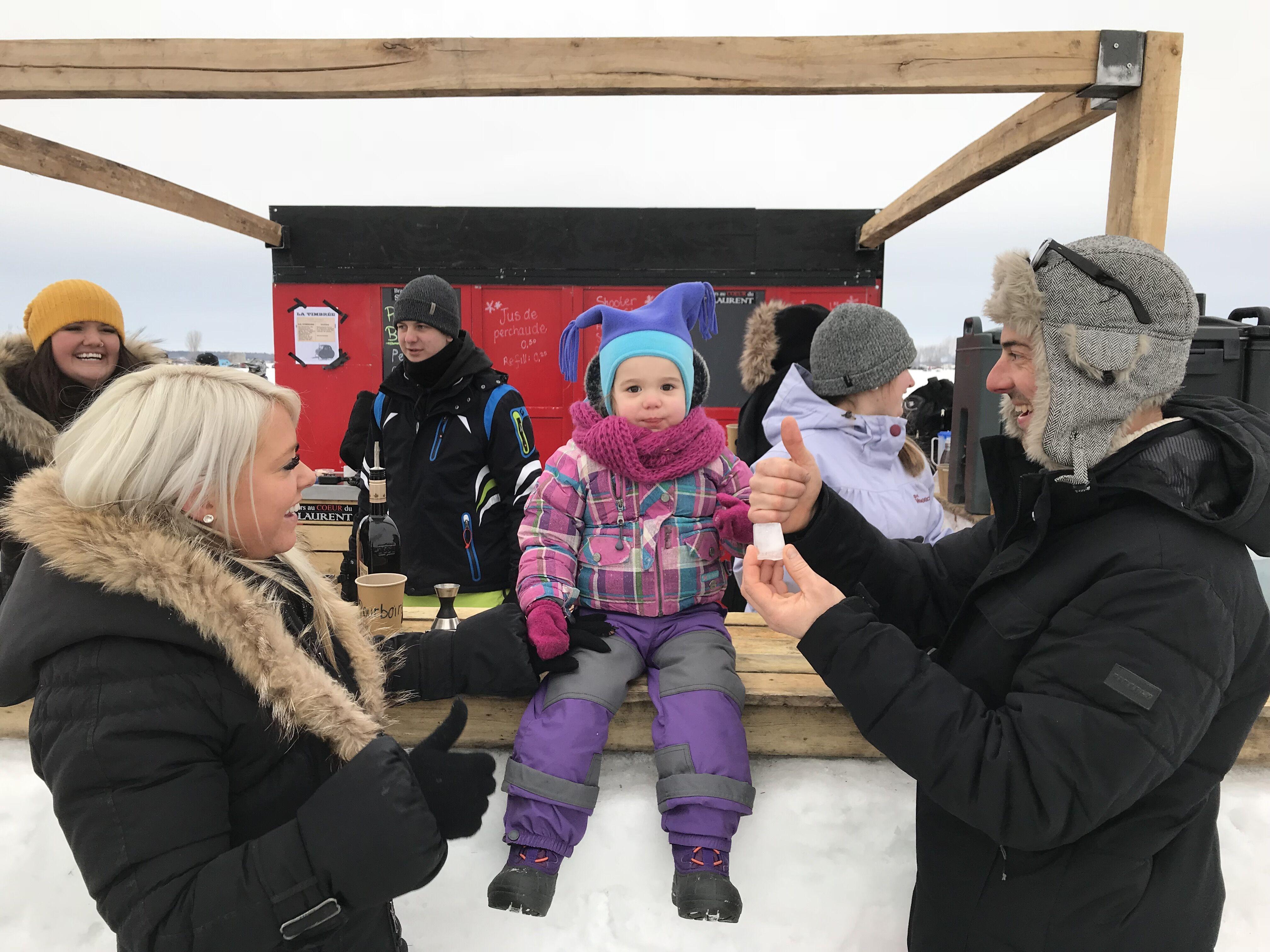 Festival de la brimbale de Contrecœur: la grande fête familiale de la pêche blanche!