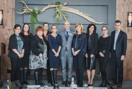 Une bonne dose d'inspiration au déjeuner Leadership au féminin 2019 de la CCIRS