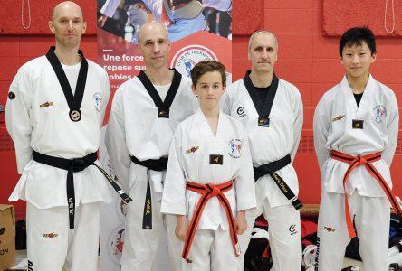 25 ans de services et plus de 25 Dan pour Le Club Taekwondo Boucherville