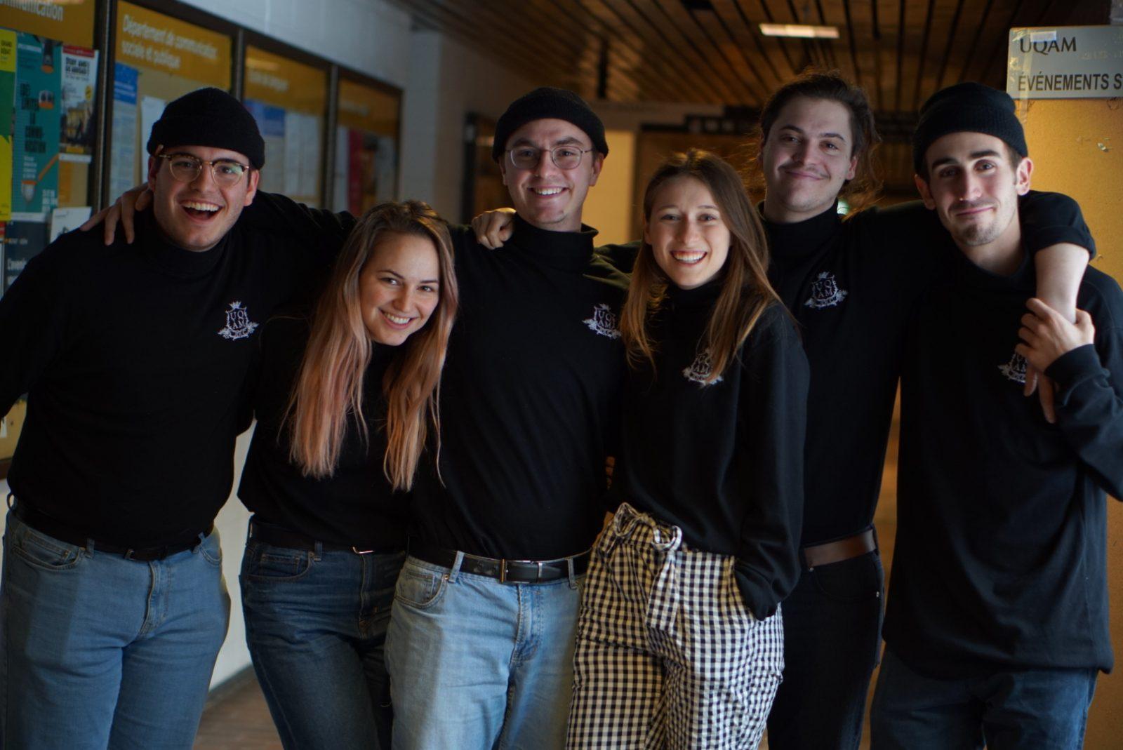 Six étudiants universitaires bouchervillois représenteront l'UQAM aux 23e Jeux de la communication